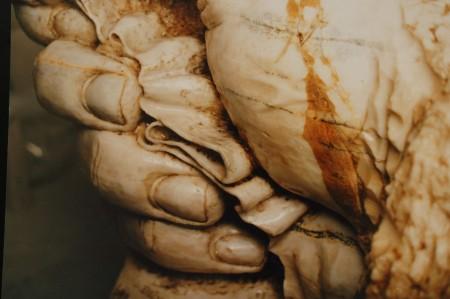 MARBLE SCULPTURE (in 2000)