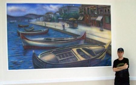 Mural, Old İzmir