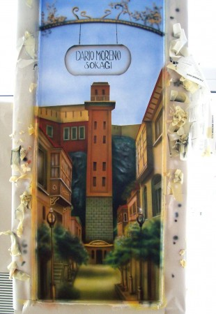 "Mural, ""İzmir asansör"""