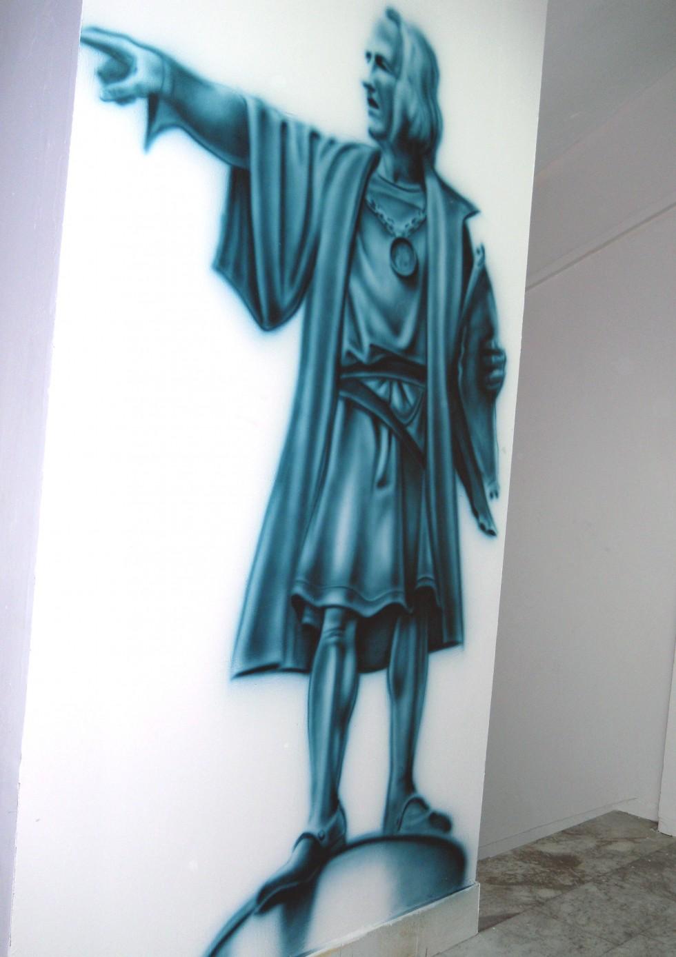 Christoph Coloumb Mural serkan ergun
