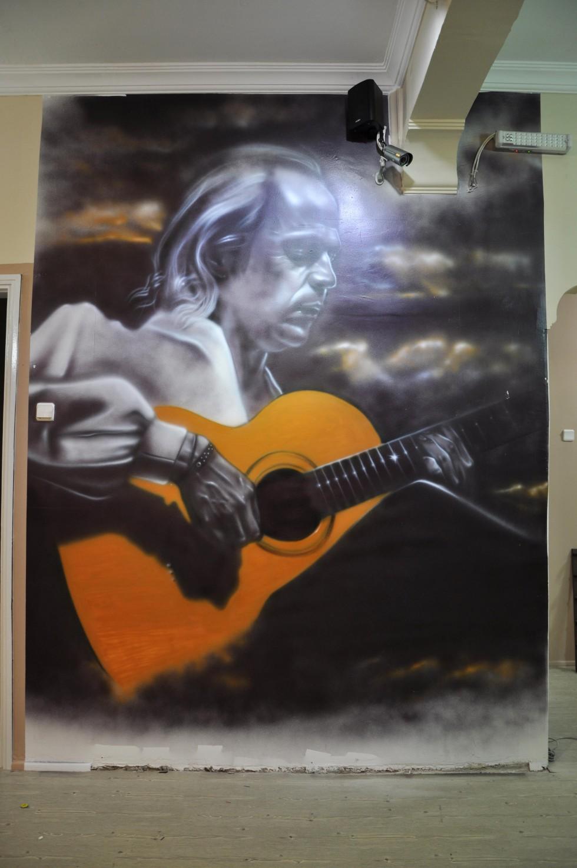paco de lucia mural