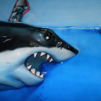 great_white_shark_relief_painting_