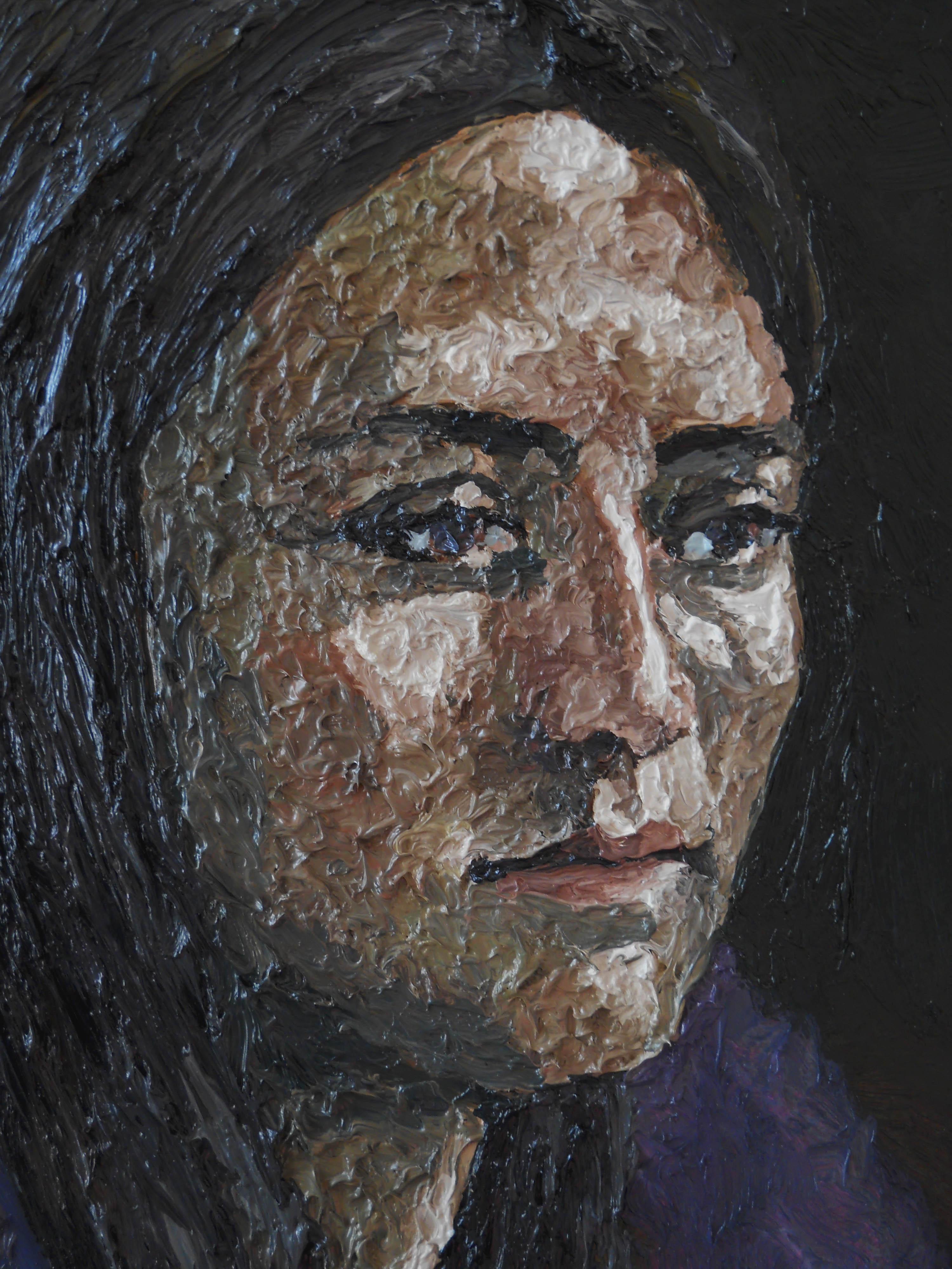 girl portrait detail