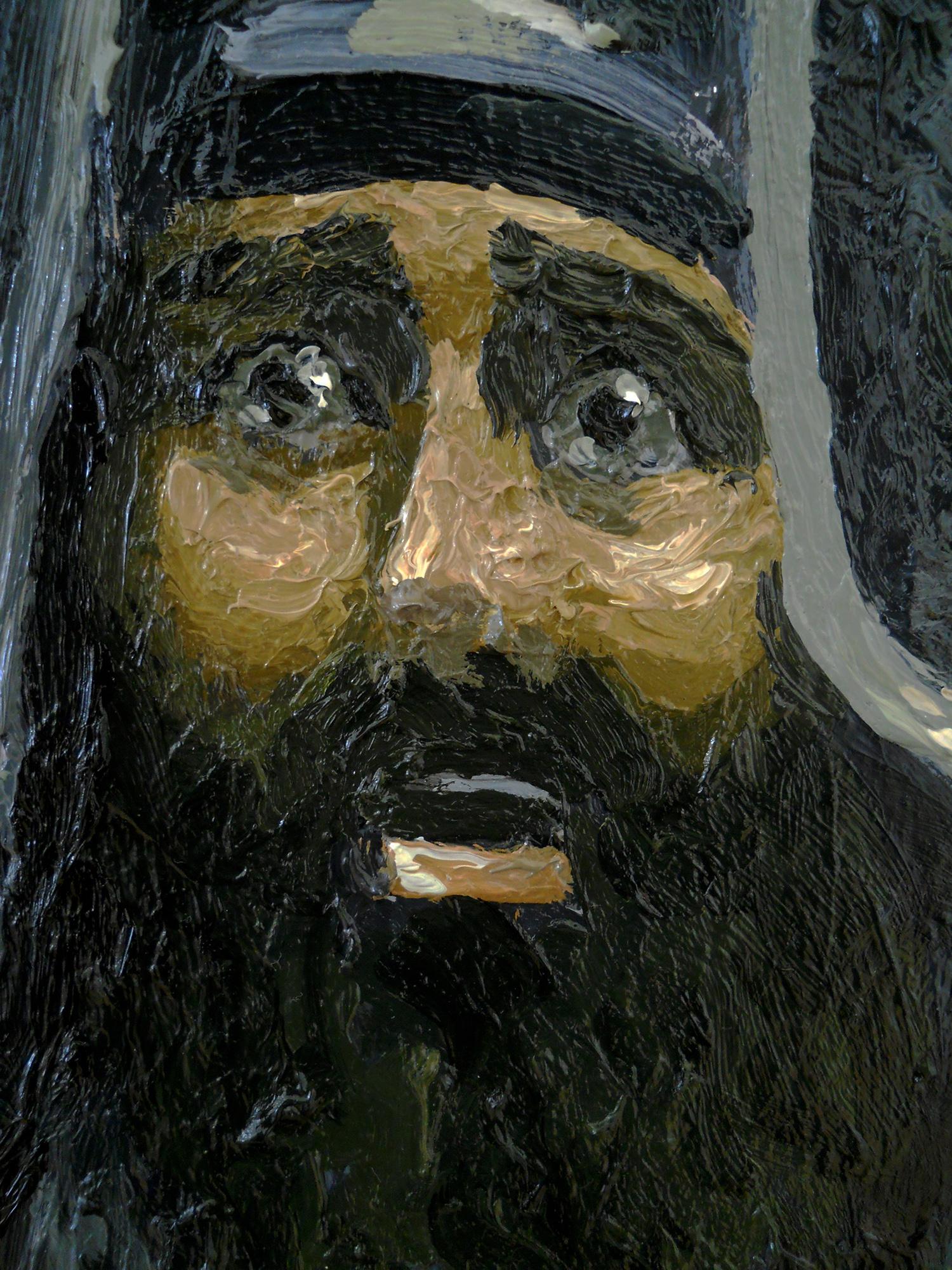 saint mary painting serkan ergun
