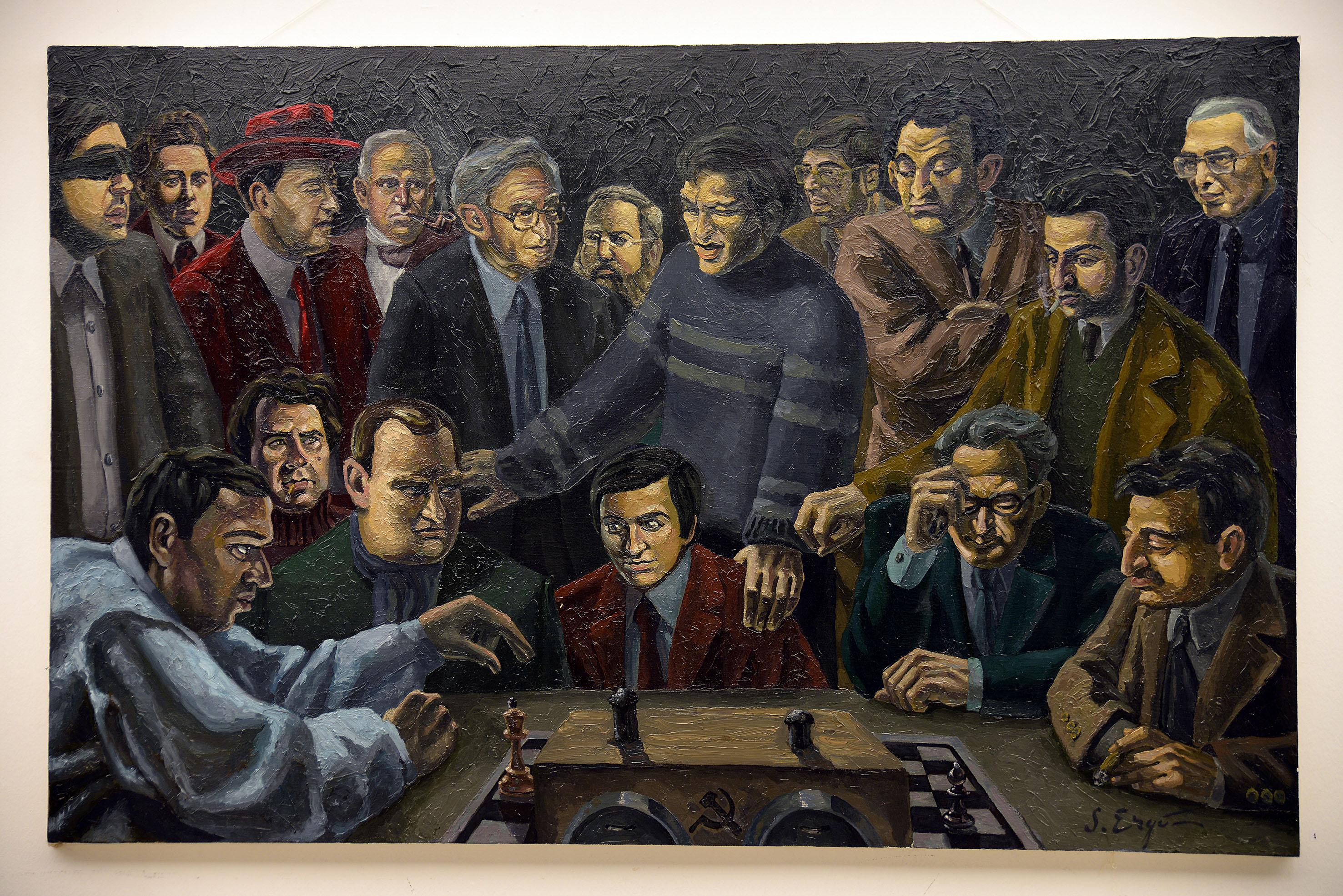 world chess champions by serkan ergun