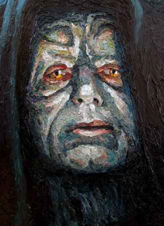 "DARTH SIDIOUS PORTRAIT (2015), From ""Movie Scenes Project"""