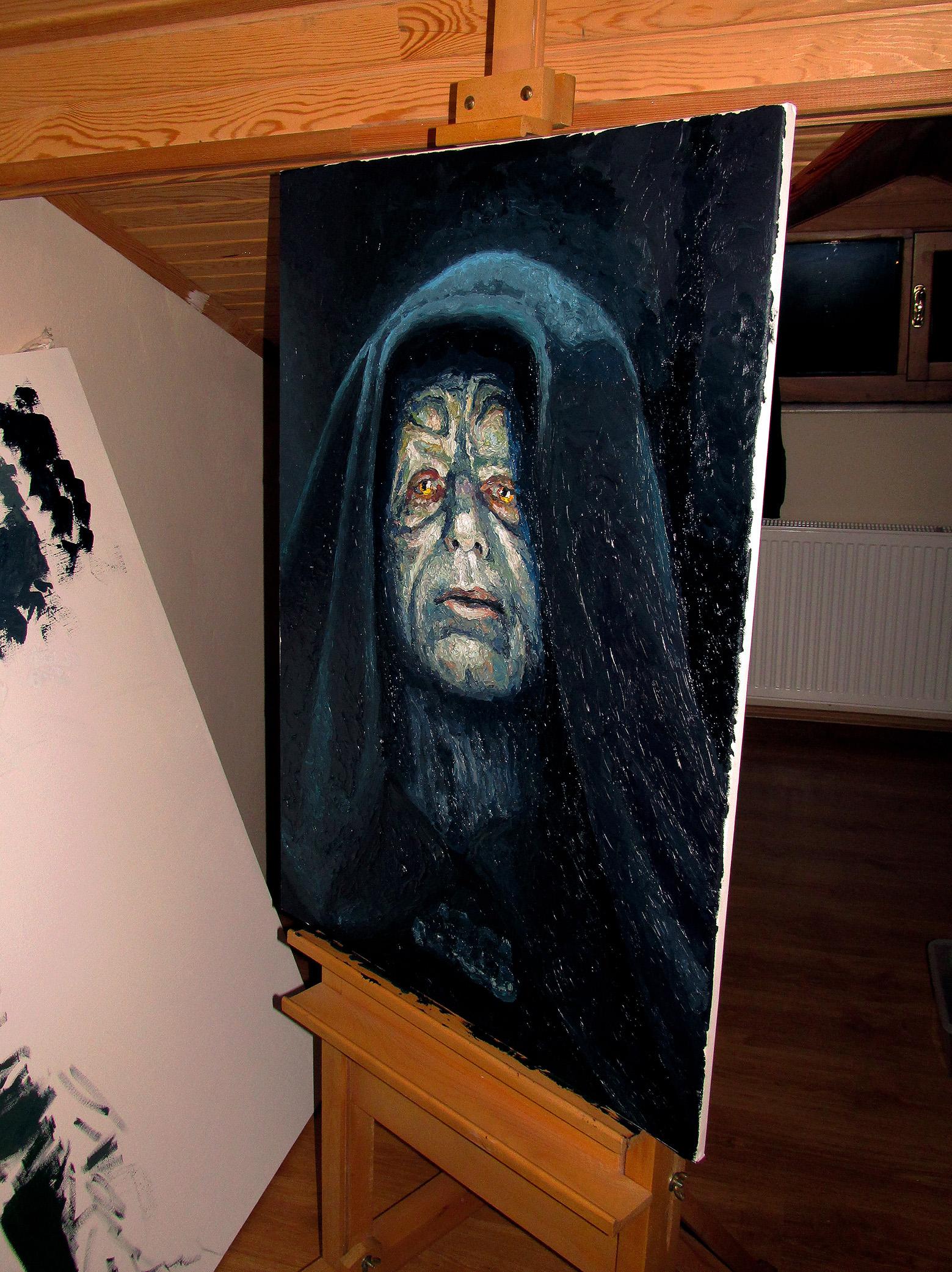 serkan ergun darth sidious painting