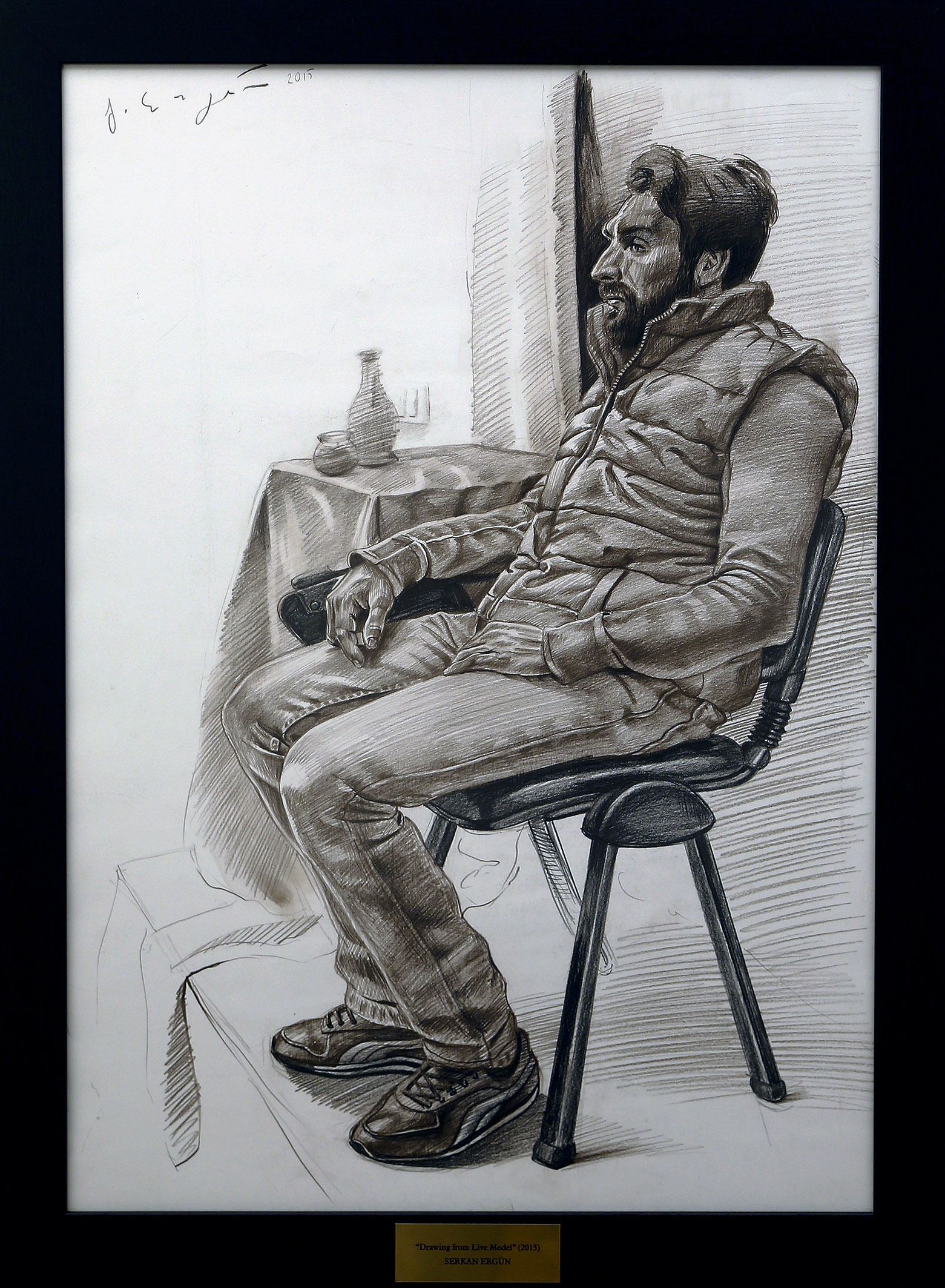 drawing from live model