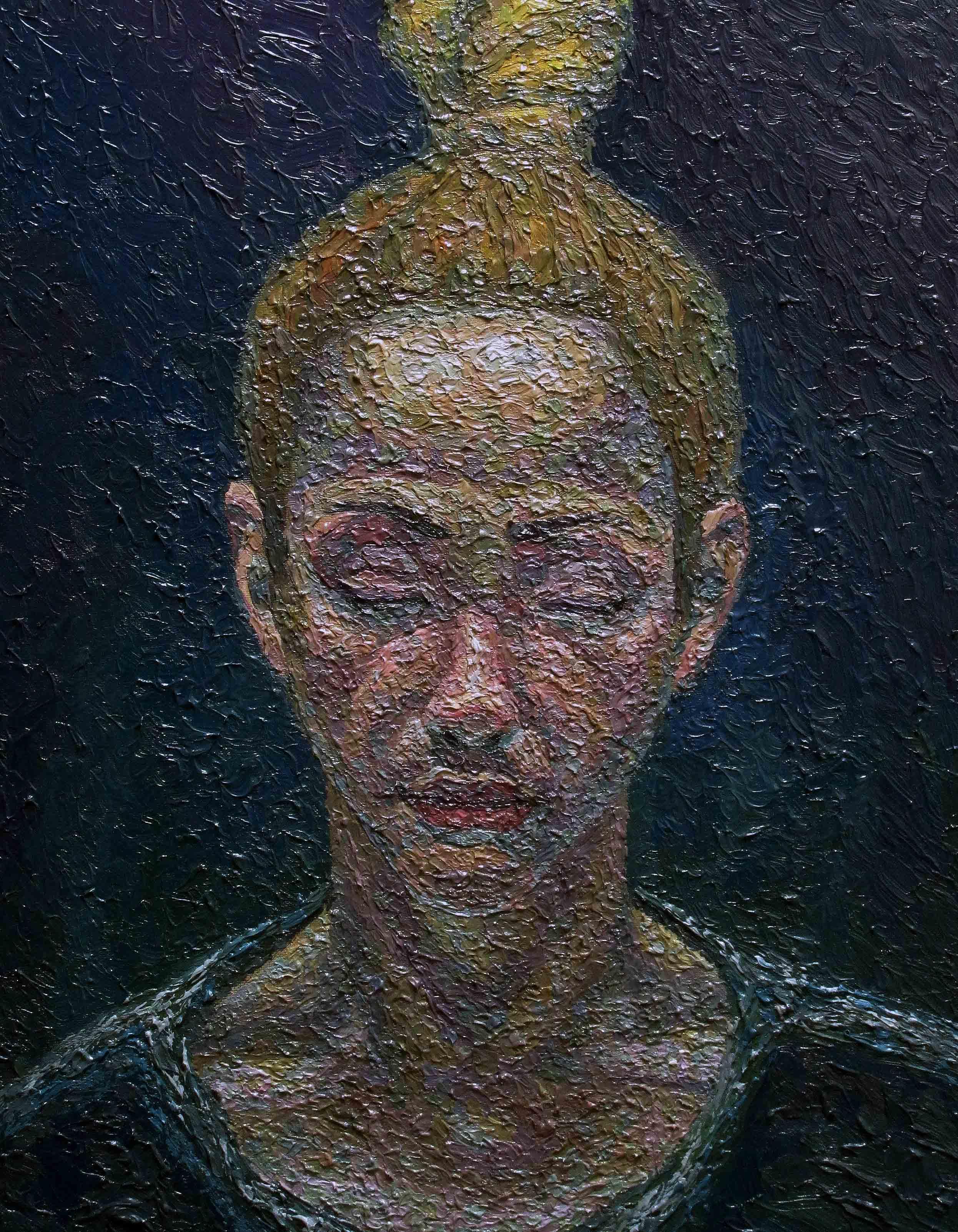 serkan ergun oil painting portrait