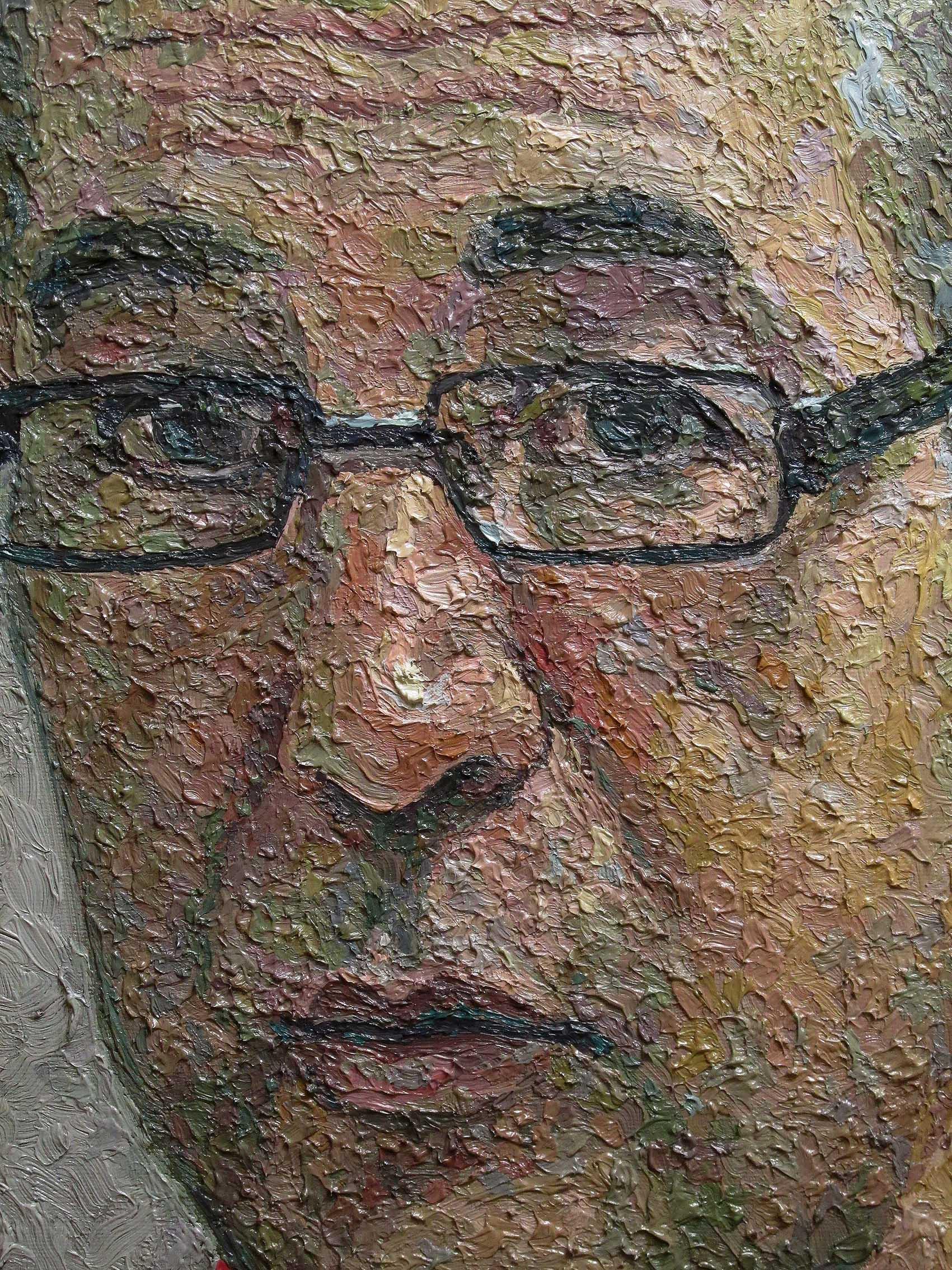 serkan ergun portrait painting