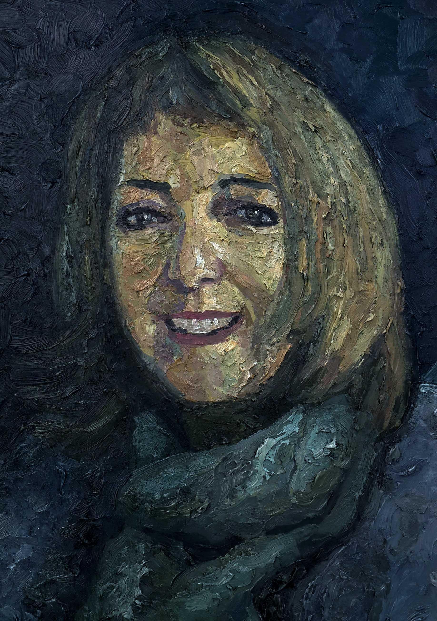 Brigitte Chorvot portrait
