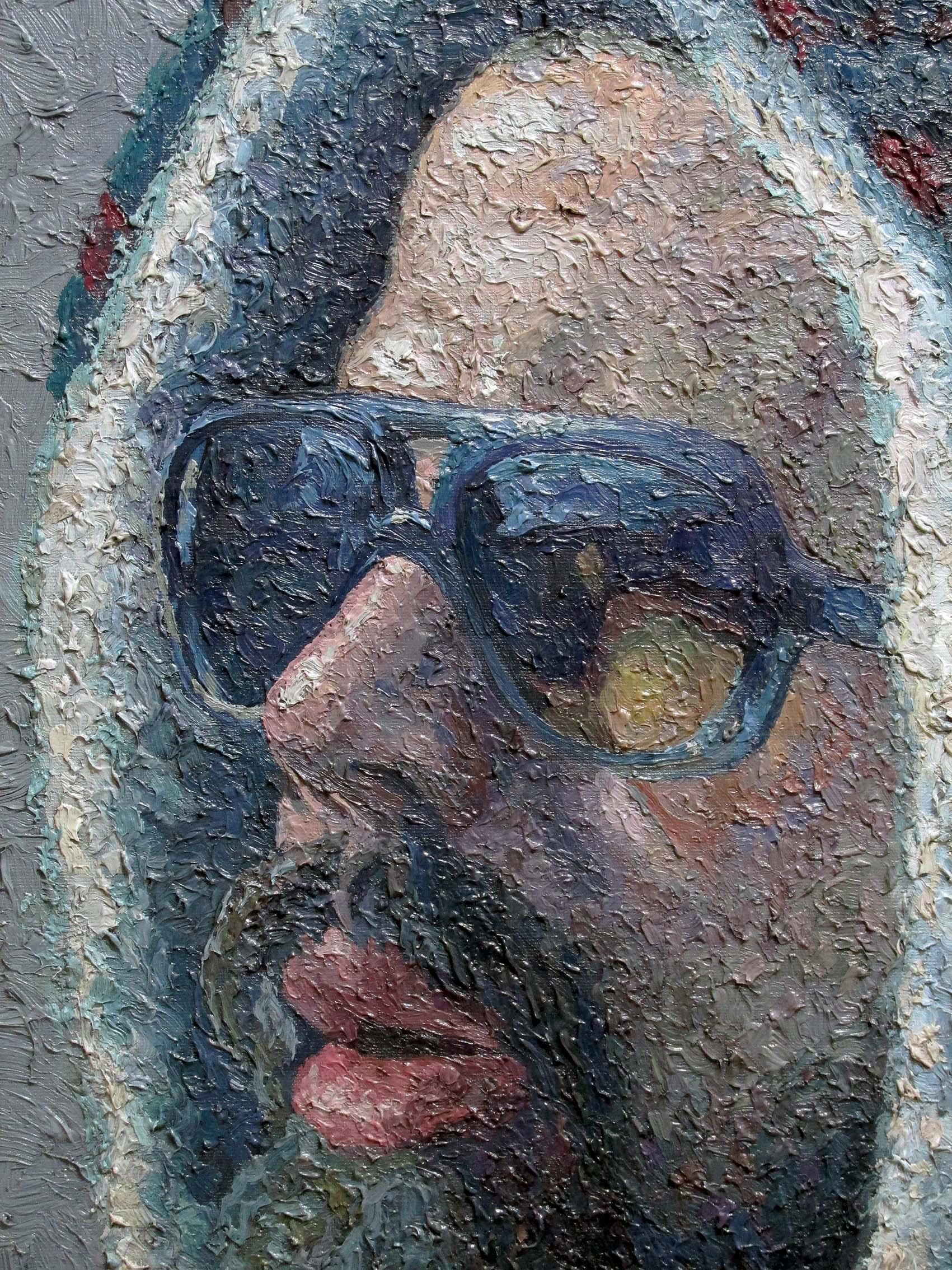 painter serkan ergün oil portrait